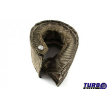 Kipufogó Turbo hővédő T6 titanium type 2